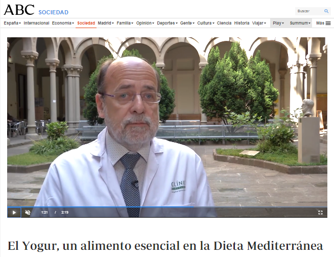 El yogur y la dieta mediterránea